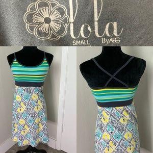 3/$25 Lola By Afg Dress W/ Built In Bra